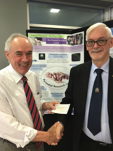 Donation from Preceptory and Priory of Qld St John