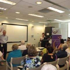 Prof Paul Colditz and Dr Tracey Bjorkman