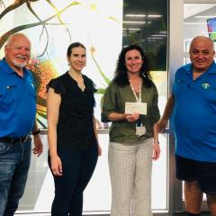 Forest Lake Golf Club donation
